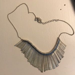 Jewelry - Fun silver statement necklace